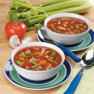 Vegetable Turkey Soup Recipe