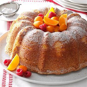 Sour Cream Pound Cake Recipe Taste of Home