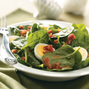 Emily's Spinach Salad Recipe
