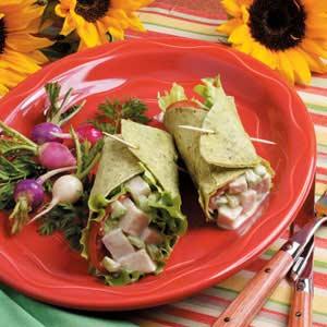 Turkey Salad Wraps Recipe