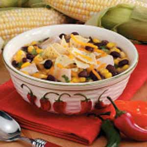 Southwestern Chicken Black Bean Soup Recipe