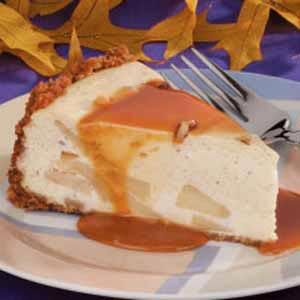Caramel and Apple Cheesecake Recipe