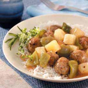 Sweet-Sour Meatballs Recipe