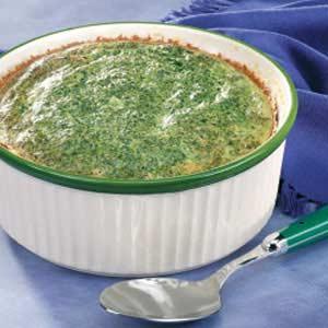 Makeover Spinach Casserole Recipe