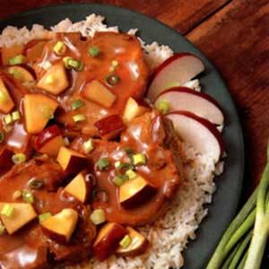 Fruited Chops Recipe
