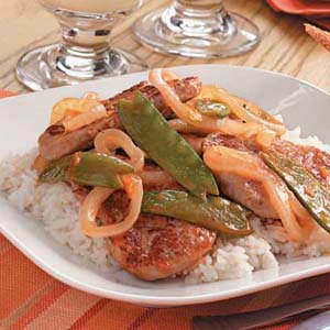 Orange-Glazed Pork Stir-Fry Recipe
