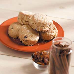Cinnamon-Raisin Buttermilk Biscuits Recipe