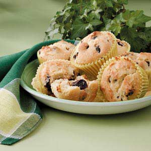 Dried Cherry Muffins Recipe