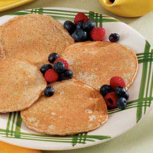 Hearty Multigrain Pancakes Recipe