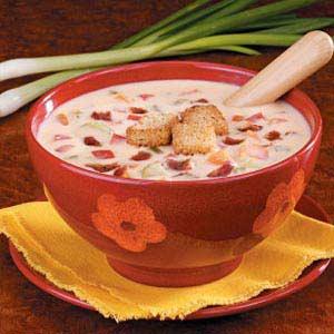 Savory Cheese Soup Recipe