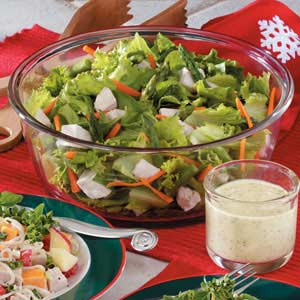 Curried Chicken Tossed Salad Recipe