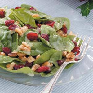 Special Spinach Salad Recipe