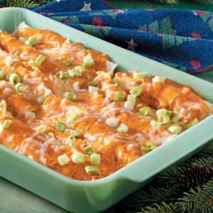 Makeover Chicken Enchiladas