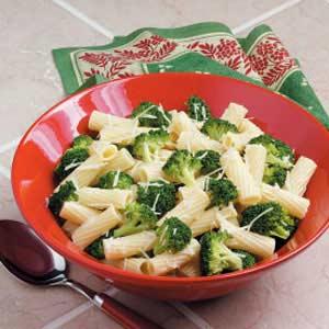 Garlic Broccoli Pasta Recipe