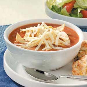 Refried Bean Soup Recipe