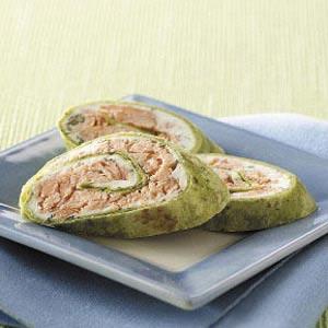 Salmon Pinwheels Recipe