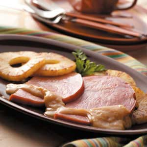 Ham Slices with Pineapple Recipe