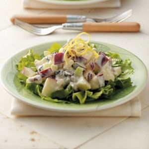 Raisin Waldorf Salad Recipe