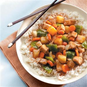 Homemade sweet and sour pork recipe taste of home homemade sweet and sour pork recipe forumfinder Images
