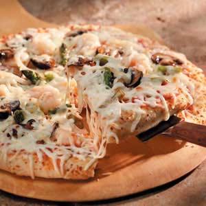 Shrimp 'n' Veggie Pizza Recipe