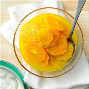 Marinated Oranges Recipe