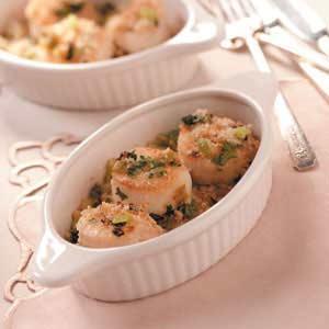 Broiled Scallops Recipe