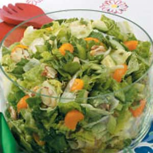 Almond-Orange Tossed Salad Recipe