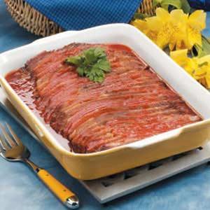 Tender Barbecued Brisket Recipe