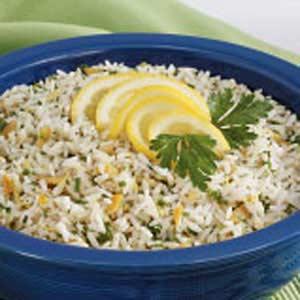 Lemony Herbed Rice Recipe