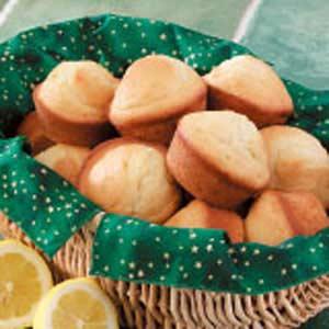 Lemon Ginger Muffins Recipe