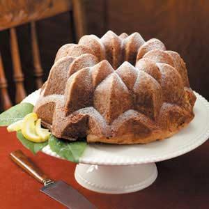 Delicate Lemon Pound Cake Recipe