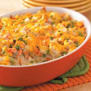 Chicken Vegetable Casserole Recipe