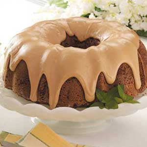 Caramel-Frosted Potato Cake Recipe