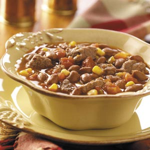 Beef 'n' Chili Beans Recipe