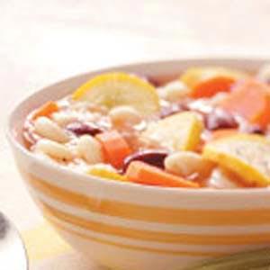 Macaroni Bean Soup Recipe