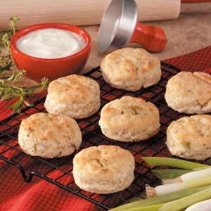 Onion Herb Biscuits Recipe