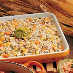 Barley and Corn Casserole Recipe