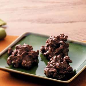 Granola Fudge Clusters Recipe