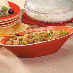 Turkey Chop Suey Recipe