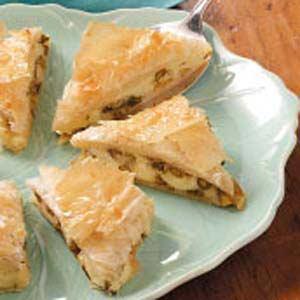 Asparagus Cheese Triangles Recipe