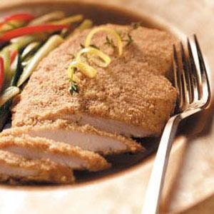 Crisp Dijon Chicken Recipe