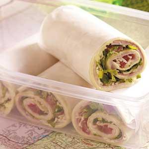 Savory Ham Wraps Recipe