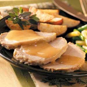 Apple-Dijon Pork Roast Recipe