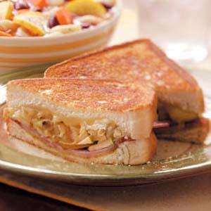 Ham 'n' Swiss with a Twist Recipe