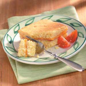 Ham 'n' Cheddar Corn Bread