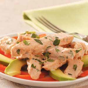 Salsa Chicken Salad Recipe