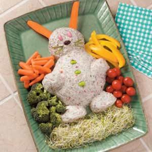 Easter Bunny Cheese Spread Recipe