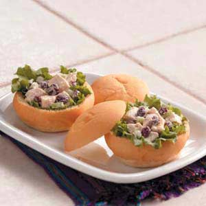 Cranberry Chicken Salad Sandwiches Recipe