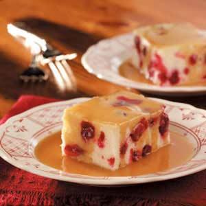 Saucy Cranberry Cake Recipe