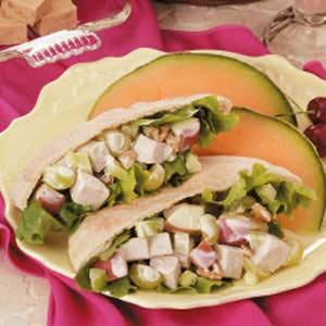 Turkey Waldorf Pita Recipe